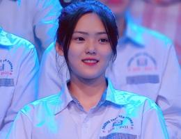 Nữ sinh Bắc Ninh bỗng nổi tiếng do xuất hiện tại chương trình Olympia