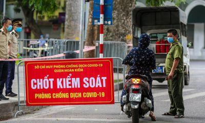 Hà Nội yêu cầu giám sát nghiêm ngặt việc thực hiện giãn cách xã hội trong dịp lễ Quốc khánh 2/9